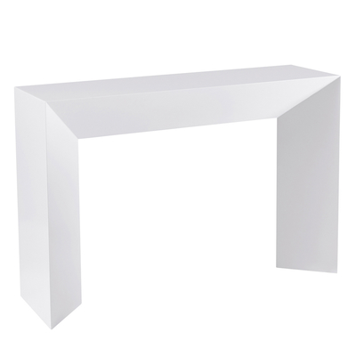 Sophia console table white