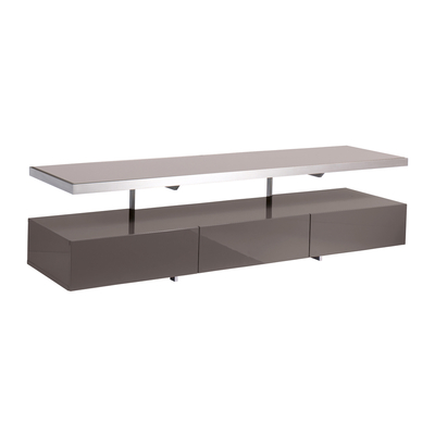 Floating shelf TV unit stone
