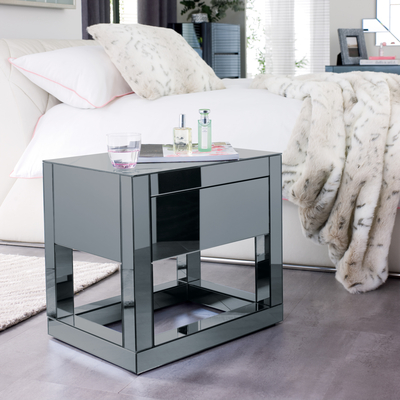 Reflect Mirrored Bedside Table Dwell