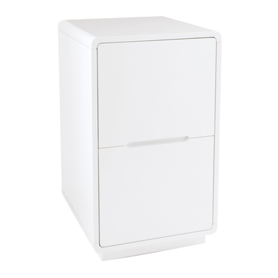 Monza office cabinet white