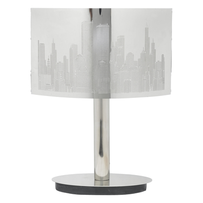 Cityscape Oval Table Light