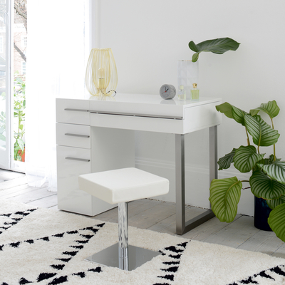 Carter Dressing Table White Dwell