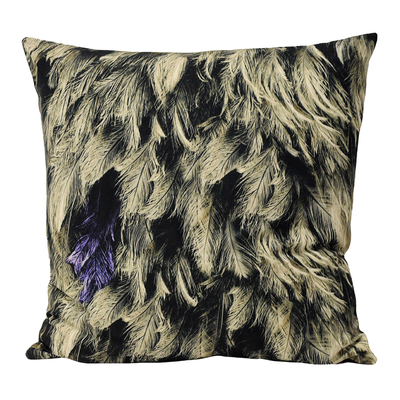 Cluster feather cushion