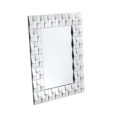 Bevelled mirror large