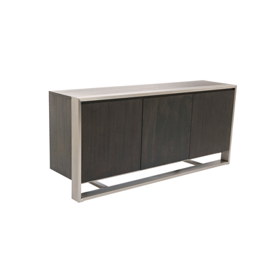 Nox three doors sideboard chocolate oak