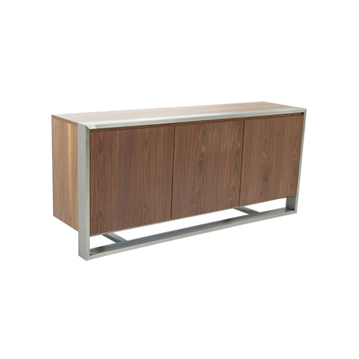 Nox three doors sideboard walnut