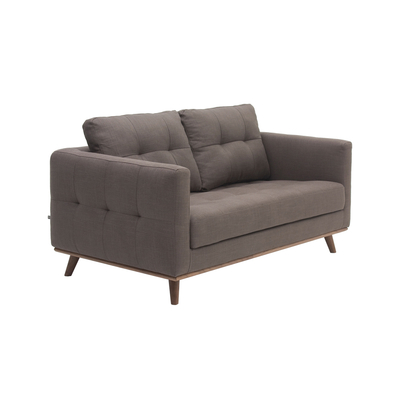 Marseille two seater sofa grey