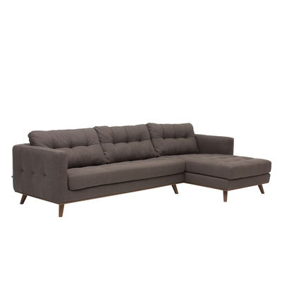 Marseille right hand corner sofa grey