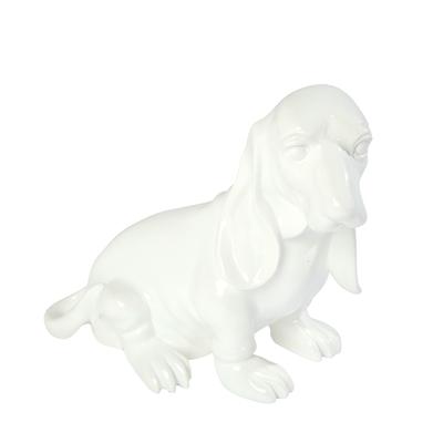 Hound sculpture