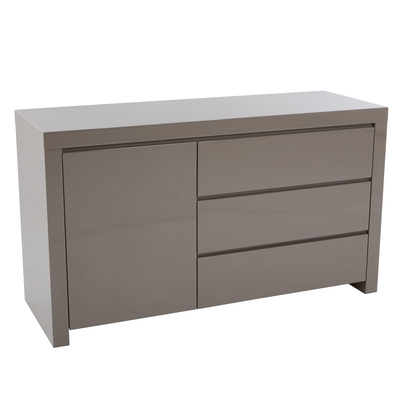 Newton compact storage sideboard stone