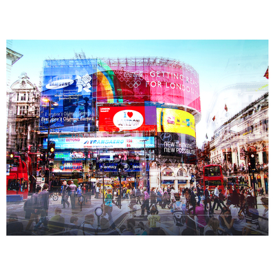 Piccadilly circus art