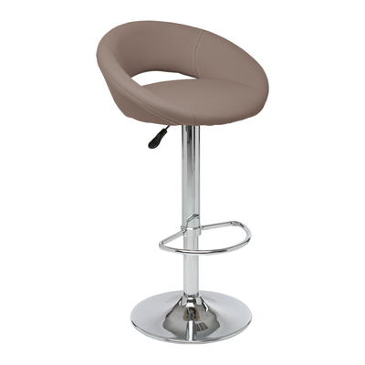 Retro circles bar stool stone