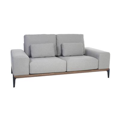 Malmo two seater sofa light grey