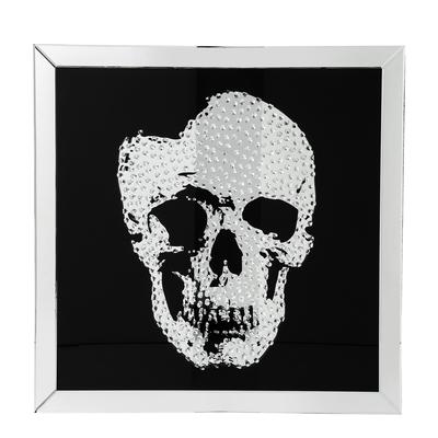 Mirror skull frame