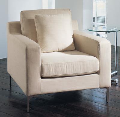 Oslo armchair sand fabric