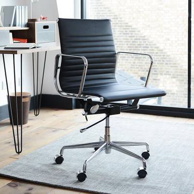 nexus home office chair black