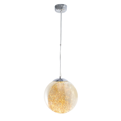 Amber flare pendant light large