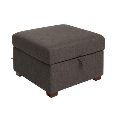 Ankara footstool with storage truffle