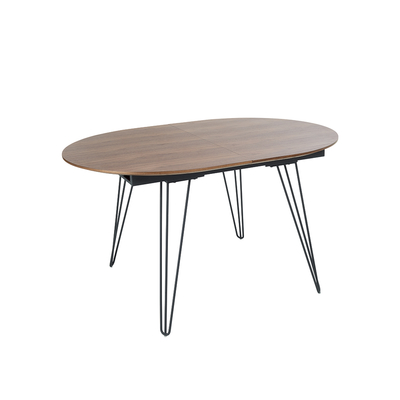 Antwerp extending dining table oval