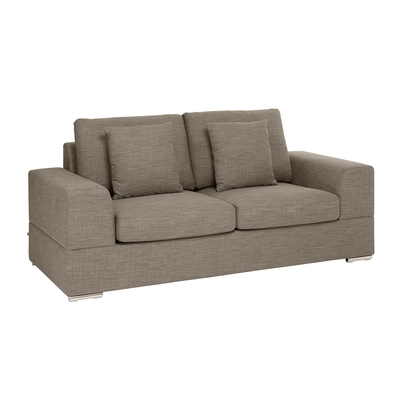 Verona two seater sofa bed mocha