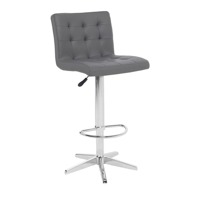 Hadley bar stool grey