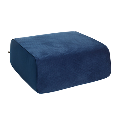 Stockholm footstool square midnight blue