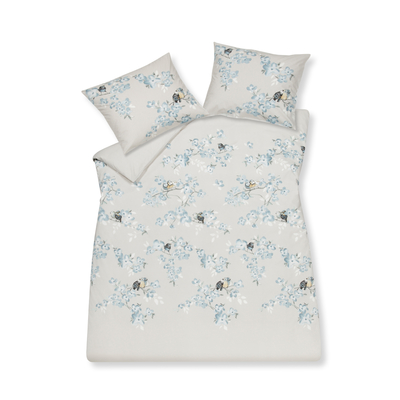 Birdy print duvet set with housewife pillowcase king