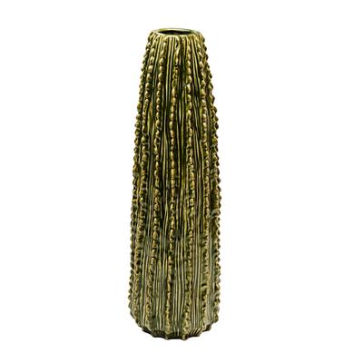 Cactus vase round tall