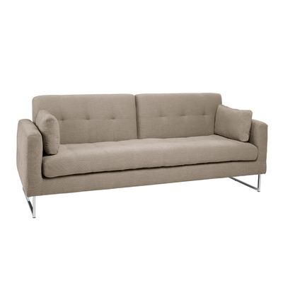 Paris three seater sofa bed pewter ...