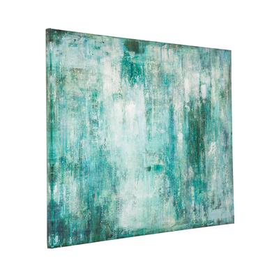 Daze abstract art blue