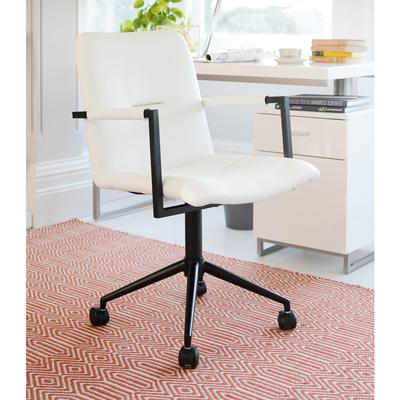 Bureau office chair white