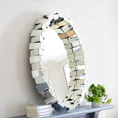 Quad wall mirror