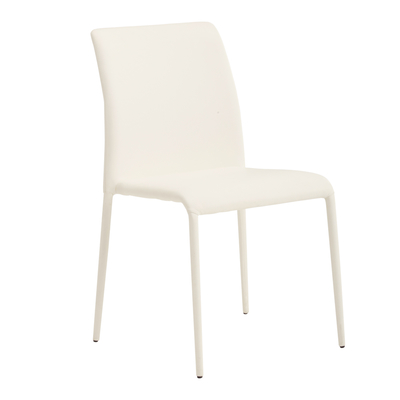 Svelte dining chair white