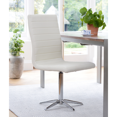 Ripple dining chair white
