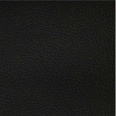 Fabric sample for black faux leather ...