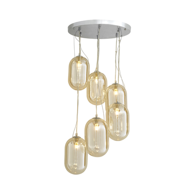Droplet cluster pendant light