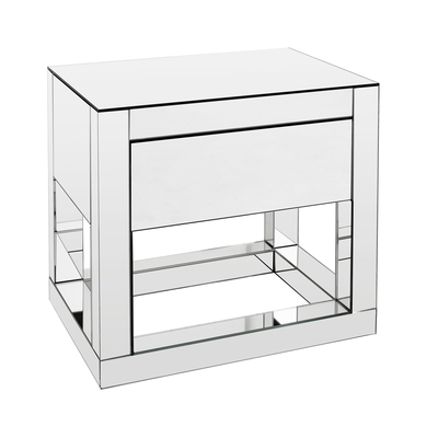 Reflect mirrored bedside table
