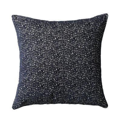 Segment cushion navy