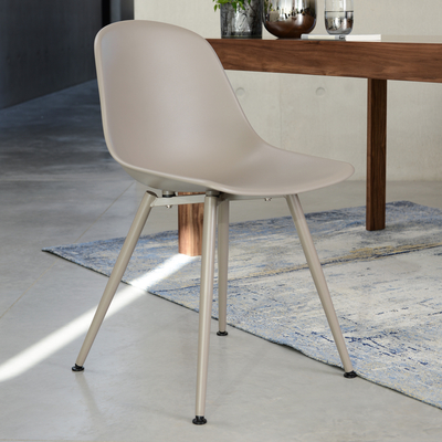 Treviso dining chair stone with stone leg