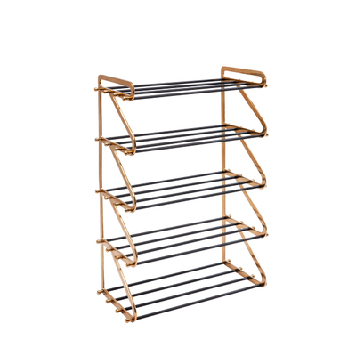 Five shelf shoerack