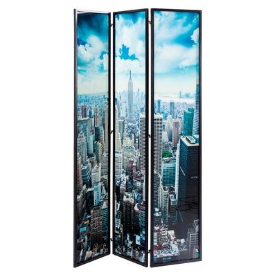 New York glass room divider