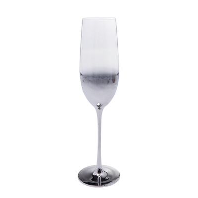Midnight champagne flute