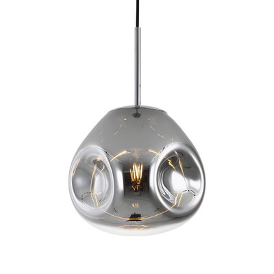 Canite pendant light silver