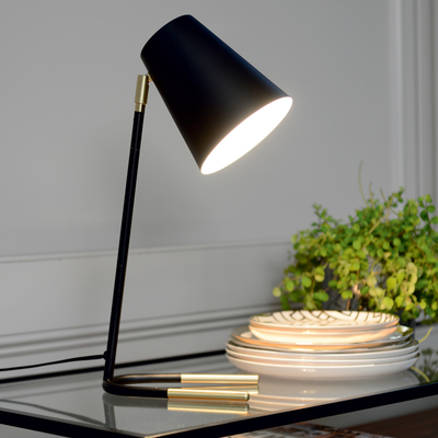 Acento table light black