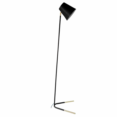 Acento floor light black