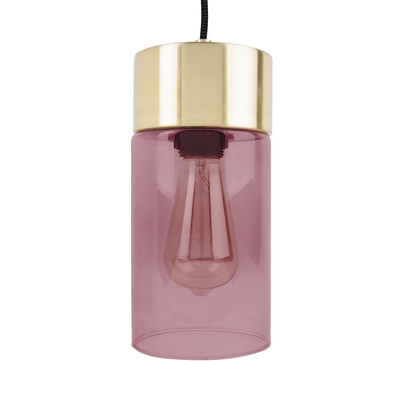 Tinte pendant light pink