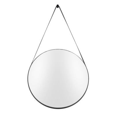 Hanging mirror black rim