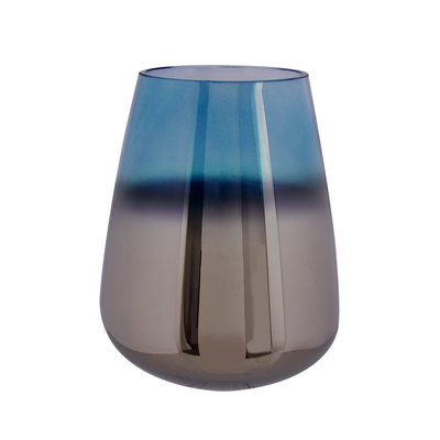 Mergo vase tall blue