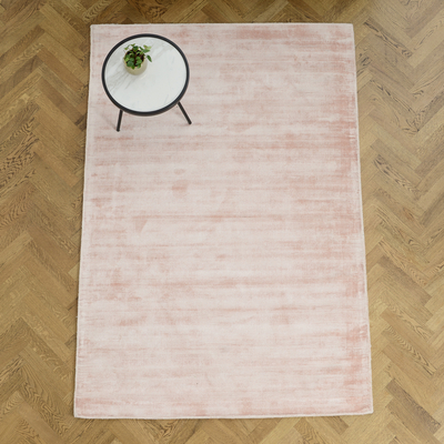 Lancet rug medium pink