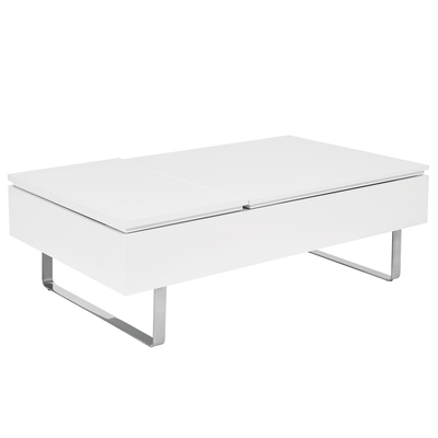 Reveal coffee table double lifting white